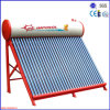 Solar Thermal Water Heater with Evacuated Tubes
