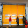 Plastic Industry Automatic Rapid Stacking Folding Doors (HF-1008)