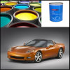 Hot Sale Auto Refinish 1k Gold Medium Silver Powder Paint