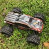 Metal Chassis Brushless 4WD Electric RC Car Model