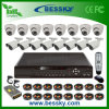 16CH H. 264 Standalone DVR and IR Camera CCTV System