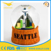 Resin Base Snow Globe Christmas Snow Globe for Gift