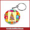 Bestsub 47mm Round Plastic Promotional Sublimation Keychain (PYA47)