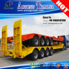 Heavy Duty Transporter Loader 4 Axles Low Bed Truck Trailer