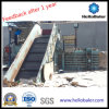 Semi Auto Horizontal Baler Machine for Waste Paper Recycling HSA4-6 From Hellobaler