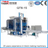 Automatic Concrete Block Making Machine Brick Machine (QT6-15B)