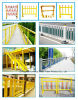 Corrosion Resistance FRP Pultruded Fence FRP Handrail, Safety Barrier Fence