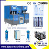 Semi Automatic Pet Bottle Blower with One Oven Two Blowers