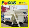 Js1500 Electric Motor Automatic Concrete Mixer, Twin Shaft Concrete Mixer