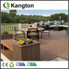 WPC Outdoor Flooring Grooved Anti-Slip Decking (decking)