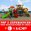 Factory Supply Commercial Kids Plastic Outdoor Playground Equipment Sale