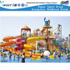 Newest Water Park Combination Water Slide Water House (HD-6202)