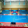 Indoor PVC and PP Interlock Sports Floor for Soccer / Futsal Court