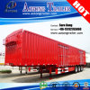 Tri Axles Foods Cargo Transport Van/Box Semi Truck Trailer