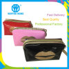 Ladies Fashion Big Mouth Mirror PVC Travel Cosmetic Bag