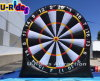 inflatable football dart board football toss for sports event for sale