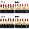30 Colors Brand Moisturizer Matte Liquid Lipstick Lip Gloss Nude Matte Lipstick Lips Waterproof Metal Color Makeup Lip Gloss