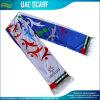 Silk Satin Fan Scarf for Football Club (B-NF19F10003)