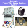 Subsonic Oxygen Acetylene Flame Steel Copper Zinc Aluminum Molybdenum Metal / Alloy Wire Spray Machine Thermal Coating Device System