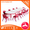 Combined Circle Table Kids Table Furniture Plastic Table for Sale