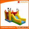 Panda Inflatable Bouncer Inflatable Large Slide Combo Bouncy Castle (T3-220)