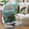 Luxurious Cotton Linen Toss Pillow Covers for Sofa