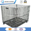 Steel Heavy Duty Stackable and Foldable Mesh Container for Storage