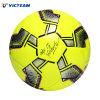 Bright Yellow Shiny PVC Sponge Football Size 5 4