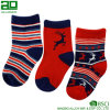 Ningbo 2017 Breathable Stripes Cotton Christmas Stockings