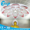 Lotus Design Aluminium Spandrel Flower False Ceiling for Dome Renovation