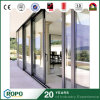 Aluminium Sliding Double Glass Outside Door with Locks