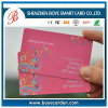 SGS Approved Colorful PVC Plastic Transparent Card