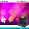 Night Light Projector 5X5 4in1 RGBW 25X15W LED Zoom Wash Matrix Panel Beam Moving Head