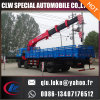 New Hydraulic 6 8 10 12 Ton Small Truck Mounted Crane for Sale, 360 Degree Rotation 7 Ton Truck Cranes
