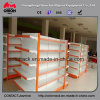 Double Back Panel Metal Supermarket Shelf