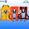 Marine Single Air Chamber Inflatable Life Jacket