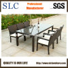 Outdoor Dining Set/Glass Top Dining Set /Wicker Dining Set (SC-B6023)