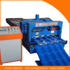 Dx Steel Color Glazed Tile Profile Rolling Forming Machine