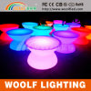 Color Changing LED Plastic Dining Coffee Table