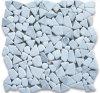 Calacatta Gold Marble River Rocks Pebble Mosaic Tiles Tumbled
