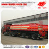 3 Axles 18cbm Sulfuric Acid Transport Tanker Semi Trailer