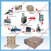 High Productivity Compressed Wood Pallet Making Machine Full Production Line
