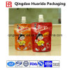 Aluminum Foil Baby Plastic Laminated Jelly Packaging Bag with Spout