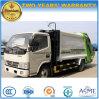 5 T 100 HP 6 Wheels Compactor Garbage Truck 5 Cbm Waste Treatment Truck