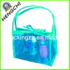 PVC Bag for Cosmetic Gift Packing, Clear PVC Zipper Bag