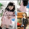 Lovely Warm Wool Fabric Coat for Kids Girl
