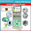"""32"""" Full HD Touch LCD Kiosk Public Free Mobile Phone with Mfi Cable Charging Station"""