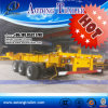 China Supplier Skeleton Container Transport Semi Trailer