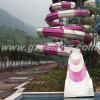 Open Spiral Body Water Slide