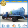 8 Cubic Meters Sewage Suction Truck Dongfeng Suction Type Sewer Scavenger